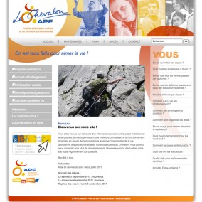 Le nouveau site internet de l'APF du Chevallon (Isère)