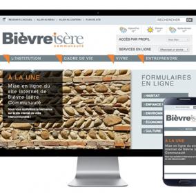 Communauté de Communes Site Web responsive - collectivités - wordpress