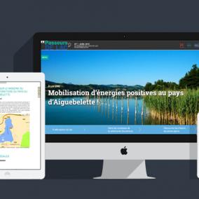 Webzine responsive Savoie Lac 111media